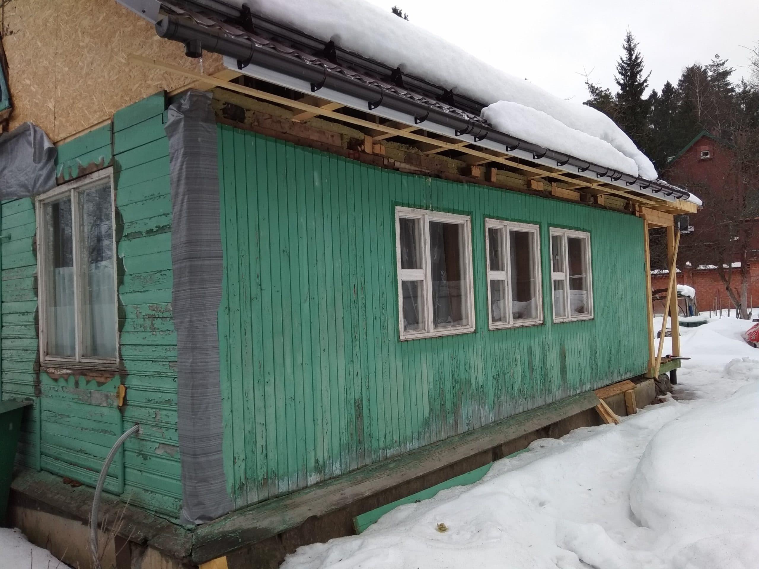 staryi dom v cyn moskovskaja oblast pushkinskii raion scaled - Монтаж сайдинга