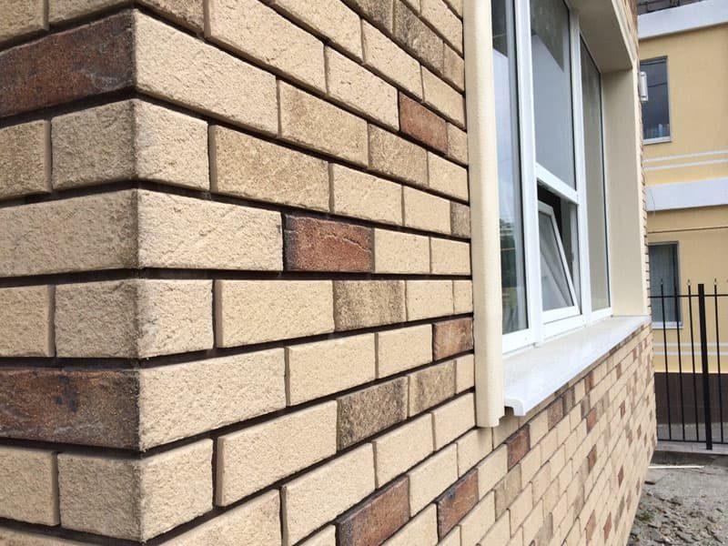 Клинкерная плитка, термопанели для фасада