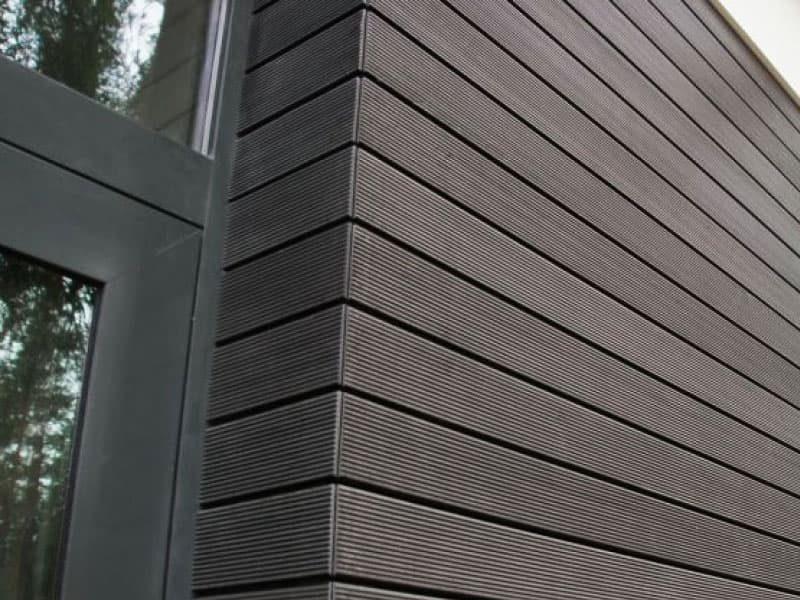 Композитная панель из ДПК, планкен для отделки фасада